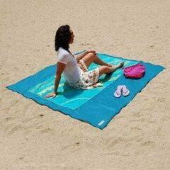 Froyak zand vrij strandmat blauw
