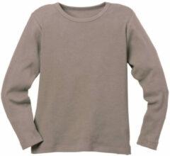 Minibär DESIGN Ribbelshirt, taupe 110/116