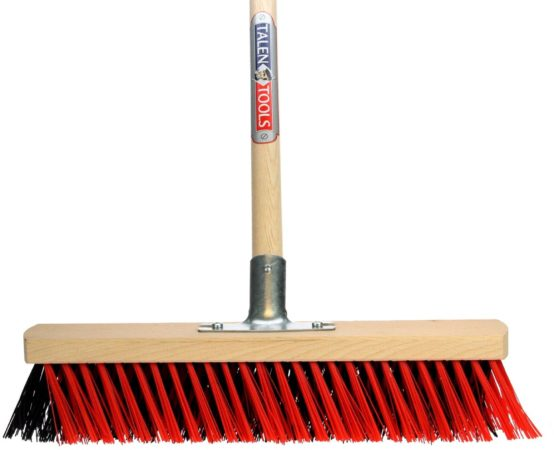 Afbeelding van Rode Talen Tools TalenTools X-bezem voor buiten 150cm steel