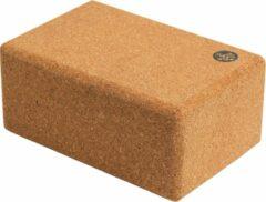 Manduka - Cork Block - Yogablok bruin/beige