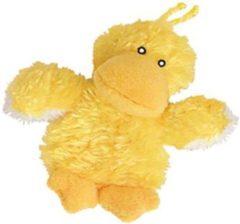 Kong Dr.Noys Duckie - Kattenspeelgoed - Geel - 17 cm