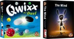 White goblin Spelvoordeelset Qwixx Het Duel & The Mind