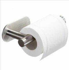 Happy Tears | WC rolhouder | Zonder boren | Luxe toiletrolhouder | RVS | Luxe look | Strakke design | Zilverkleurig | Gratis verzending