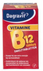 Dagravit vitamine B12 1000mg smelt tabletten - 100 stuks - Voedingssupplement