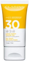 Clarins Dry Touch Facial Sun Care Cream UVA/UVB 30 - Face - zonnebrand