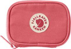 Roze Fjällräven Fjallraven Kanken Card Wallet Portemonnee - Unisex - Peach Pink