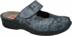 Berkemann -Dames - blauw - pantoffel - muil - maat 36½