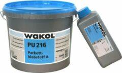 Houtlijm - Parketlijm - Wakol - 2K - PU - 216- 7,75 kg - Eiken/Beige - Watervrij