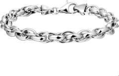 Quickjewels huiscollectie Zilver Gerhodineerde Armband 6 1321438 19 cm