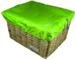Merkloos / Sans marque Hooodie Box L Lime voor fietsmand of fietskrat