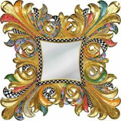 Tom's Company Kleurrijk, grappig en vrolijk, in alle kleuren van de regenboog: Spiegel Majestic XXL