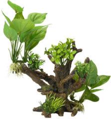 Aqua d'ella Flora Scape 4 - Aquariumdecratie - Maat M - 20,5 x 19 x 23 cm