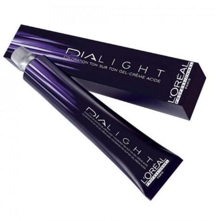 Afbeelding van Witte L'Oréal Paris Loreal Semi-permanente Haarkleuring - Dia Light Color Creme Donkerblond - 50ml