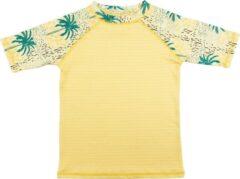 Ducksday - UV-werend Zwemshirt korte mouw voor kinderen - unisex - Cala - 134/140