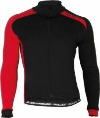 XLC Sport Shirt - Fietsshirt - Heren - Lange Mouw - Maat M - Zwart/Rood
