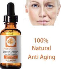 Pretty Cowry Vitamine C Serum - 30ml - Gezicht Serum - Anti Acne - Anti Rimpel - Hyaluronzuur - Gezichtsverzorging - Tegen Wallen voelt zacht aan en ruikt lekker - Je huid heeft het nodig.
