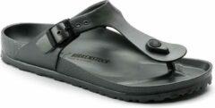 Birkenstock arizona eva slippers metallic antracite maat