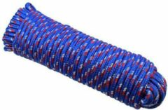 Blauwe US.PRO Tools by Bergen Touw polypropyleen 10 mm x 30 meter lang