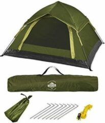 Lumaland - Pop Up tent - werptent 3 personen - 210 x 190 x 110 cm - Verkrijgbaar in verschillende kleuren - Groen