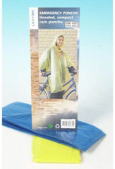 Lifetime Travel Wegwerp Poncho met Capuchon 1 size