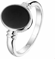 Selected Jewels Onyx Ring 1328094 (Maat: 16.5) - Zilver