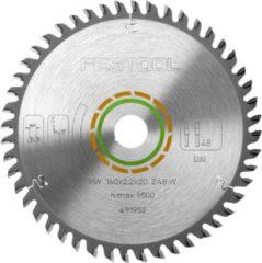Festool Accessoires Fijngetand zaagblad voor TS 55 EBQ | 160x2,2x20 W48