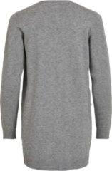 Grijze Object Objthess L/s Cardigan Noos 23028514 Medium Grey Melange