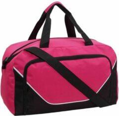 Jordan Sporttas/reistas 29 liter roze/zwart - Sporttassen - Weekendtassen - Voetbaltassen