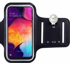 Zwarte Sport Armband Sportband Hardlopen voor Samsung Galaxy A50 / A70 / A40 / A20e / A10 / S10 / S10e / S10 Plus