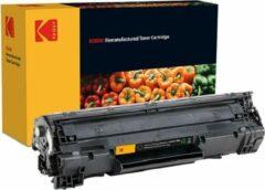 Zwarte KODAK Toner Cartridge Black 2000 Pages CB436A/36A