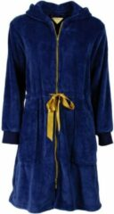 Irresistible Dames Badjas Blauw Maten: L
