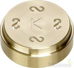 Bruine Kenwood Pastaschijf Casarecce AT910003 - Accessoire voor Chef & Major