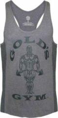 Grijze Gold's gym GGVST010 Muscle Joe Tonal Panel Stringer Vest - Grey - XL