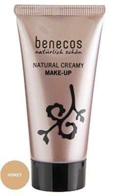 Afbeelding van Benecos Honey Natural Creamy Make-up Foundation 30 ml