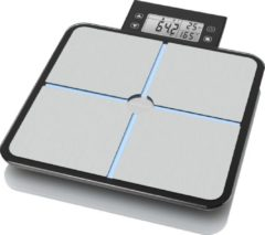 Medisana BS 460 Analyse-personenweegschaal Weegbereik (max.): 180 kg Zilver, Grijs, Wit