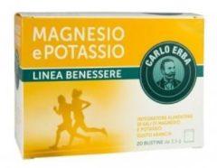 Johnson & Johnson Carlo erba magnesio e potassio 20 bustine