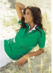 Groene Casual Looks poloshirt in prachtige zomerkleuren