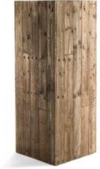 Bruine Luca lifestyle Marrone Wood High Cube 115 cm (+ inzetbak) -XL