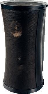 Afbeelding van Alecto draadloze luidspreker, zwart, (hxbxd) 240x100x100mm