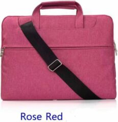 H.K. Laptop tas roze geschikt voor 13-14 inch