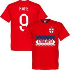 Retake Engeland Kane 9 Team T-Shirt - Rood - XXL