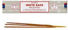 Bruine White sage / witte salie (Satya wierook)