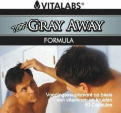 Vitalabs VitaTabs Turn-Gray-Away Complex met Catalase - 60 capsules - Voedingssupplementen