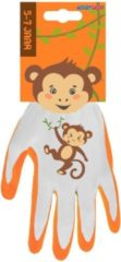 Oranje Talen Tools - Werkhandschoenen - Kinderen 5-7 jaar - Aap
