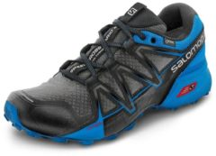 Salomon Speedcross Vario 2 GTX Men Herren Laufschuh Größe UK 10 magnet/indigo bunting/black