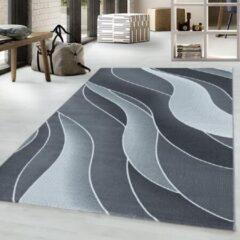 COSTA Impression Flow Design Laagpolig Vloerkleed Grijs- 80x150 CM