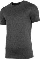 Grijze 4F NOSH4-TSMF003-90M Heren T-shirt S