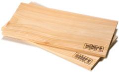 Weber Rookplank cederhout klein (set van 2 stuks)