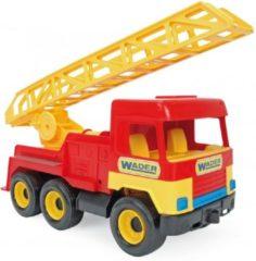 Wader Ladderwagen 40 Cm Rood/geel