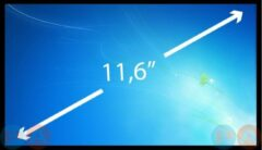 A-merk 11.6 inch Laptop Scherm EDP Slim 1366x840 NV116WHM-N41